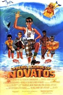 La venganza de los nerds 2 los nerds en el paraíso (1987)