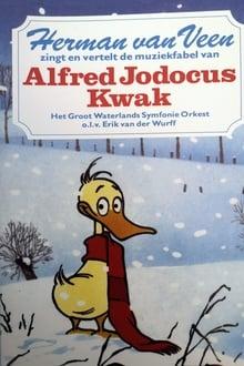 Herman van Veen zingt en vertelt de muziekfabel van Alfred Jodocus Kwak