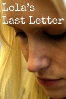 Lola's Last Letter