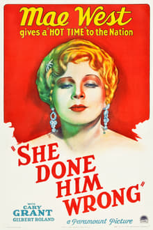 She Done Him Wrong - Lady Lou (1933)