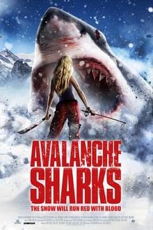Avalanche Sharks 2014 (Hindi Dubbed)