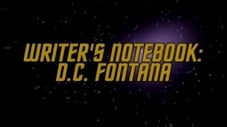 Writer's Notebook - D. C. Fontana