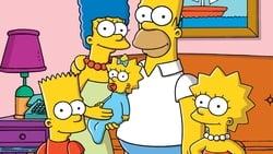 Poster de la Serie Los Simpson en linea