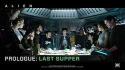 Visionado de Alien: Covenant - Prólogo: La última cena pelicula online