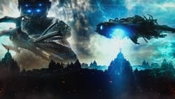Nuevo trailer online Pelicula Beyond Skyline