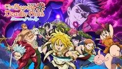 Vision de Nanatsu no Taizai Movie: Tenkuu no Torawarebito pelicula online