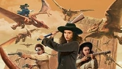 Cowgirls vs. Pterodactyls Wallpapers