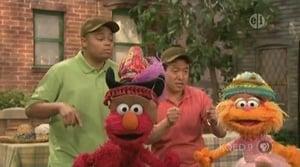 Backdrop image for Elmo & Zoe's Hat Contest