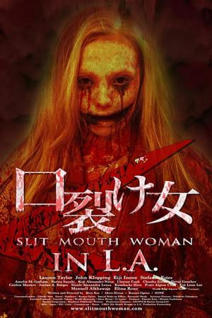 Slit Mouth Woman in LA 2014