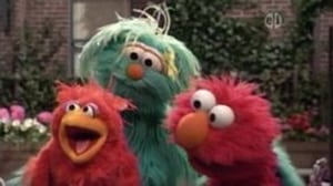 Backdrop image for Elmo Finds a Baby Bird