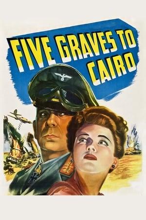 Cinco Covas No Egito - Poster