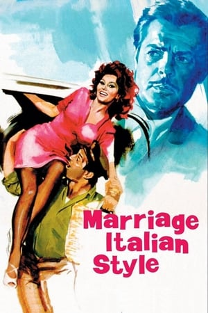 Poster Marriage Italian Style (1964)