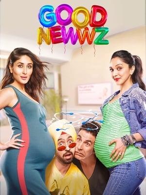 Poster Good Newwz (2019)