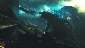 Graphic background for Godzilla KOM