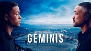 Graphic background for Gemini Man IMAX