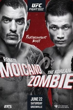 Poster UFC Fight Night 154: Moicano vs Korean Zombie (2019)