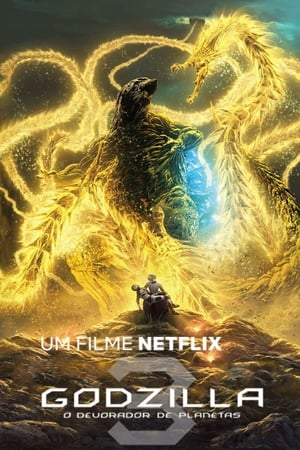 Godzilla: O Devorador de Planetas Torrent, Download, movie, filme, poster