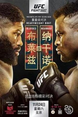 Poster UFC Fight Night 141: Blaydes vs. Ngannou 2 (2018)