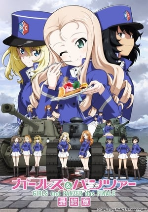Girls & Panzer das Finale: Part II BD