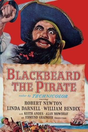 Blackbeard, the Pirate poster