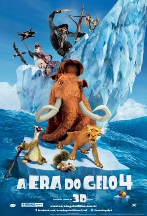 A Era do Gelo 4 Torrent, Download, movie, filme, poster