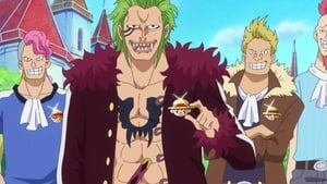 One Piece Season 20 : In the Dark Recesses of the Holyland! A Mysterious Giant Straw Hat!