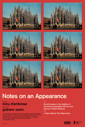 Notes on an Appearance (2018)