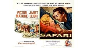 English movie from 1956: Safari