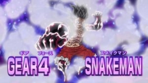 One Piece Season 19 : A God Speed Fist - New Gear 4 Activation!