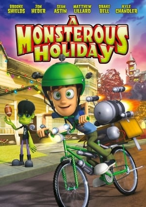 Poster A Monsterous Holiday (2013)