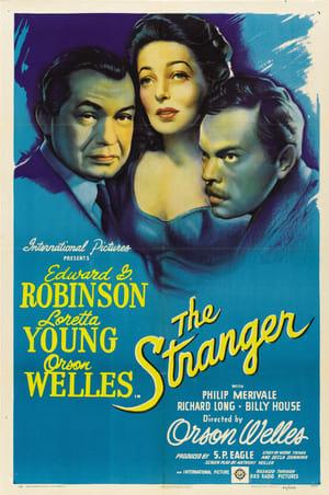 Capa do filme O Estranho