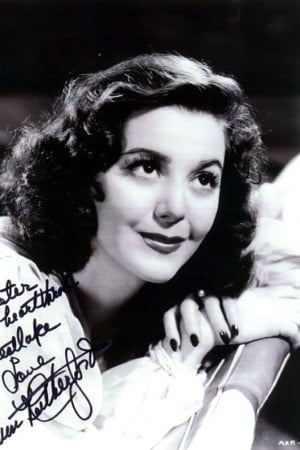 Ann Rutherford isCarreen O'