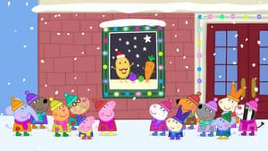 Peppa Pig Season 4 Episode 25 | Mr Potato's Christmas Show