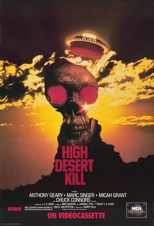 High Desert Kill poster