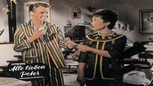 German movie from 1959: Alle lieben Peter