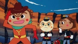 Japanese movie from 2000: Go! Anpanman: Yakisobapanman and Black Sabotenman
