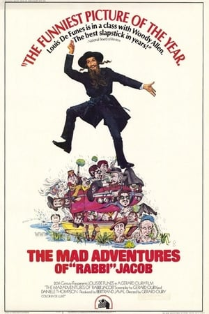 Poster The Mad Adventures of Rabbi Jacob (1973)