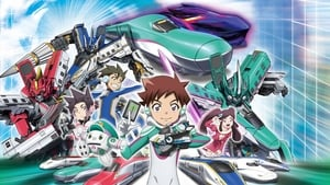 poster Transformable Shinkansen Robot Shinkalion Movie: The Mythically Fast ALFA-X that Comes from the Future