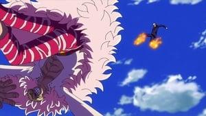 A Decisive Battle in Midair! Zoro's New Special Secret Technique Blasts!