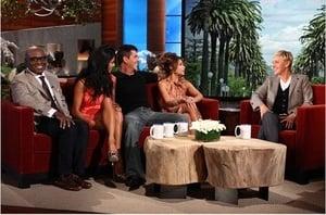 Simon Cowell, Paula Abdul, Nicole Scherzinger, L.A. Reid, Steve Jones, Luke Bryan