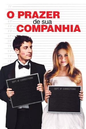O Prazer da Sua Companhia Torrent, Download, movie, filme, poster