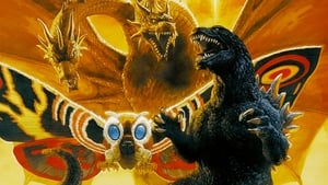 Japanese movie from 2001: Godzilla, Mothra and King Ghidorah: Giant Monsters All-Out Attack
