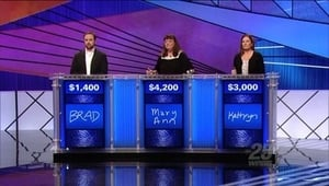 HD series online Jeopardy! Season 2012 Episode 36 2012-02-20: 2012 Teachers Tournament quarterfinal game 4