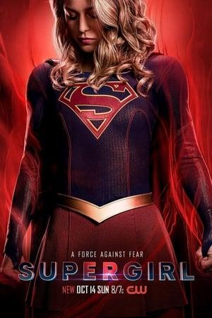 Supergirl 4ª Temporada poster, capa, cartaz