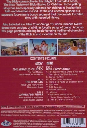 The New Testament Bible Stories for Children - Miracles of Jesus