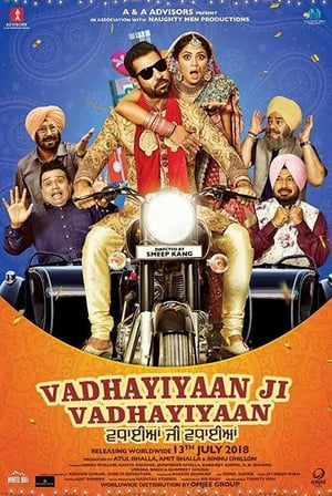Vadhayiyaan Ji Vadhayiyaan Punjabi Movie Watch Online