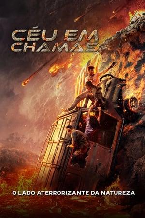 Céu em Chamas - Poster