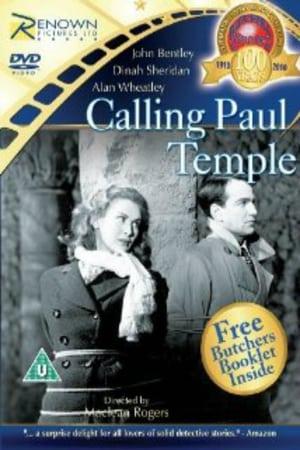 Capa do filme Calling Paul Temple