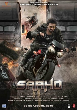 Saaho - Poster