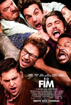 É o Fim Torrent, Download, movie, filme, poster